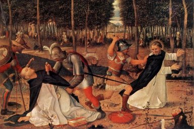 The Assassination Of St Peter Martyr 1509