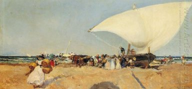 Arrival Of The Boats 1898