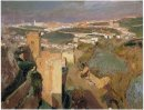 Tower Of Seven Pont Alhambra Granada 1910
