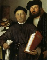 Portrait Of Giovanni Agostino Della Torre And His Son Niccolò 15
