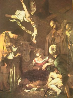 Nativity With St Francis And St Lawrence 1609