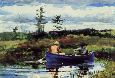 The Blue Boat 1892