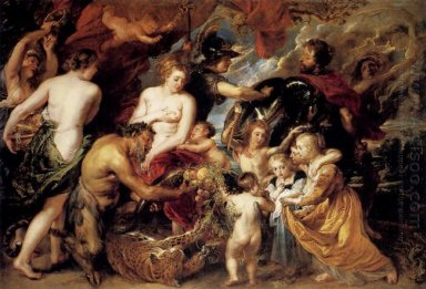 Allegory on the Blessings of Peace 1629-30