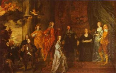 philip 4th earl of pembroke and his family