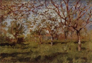 Apple Trees In Blossom 1896 1