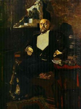 Portrait Of S Mamontov The Founder Of The First Private Opera 18