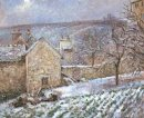 snow at the hermitage pontoise 1874