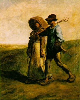 Going To Work 1853