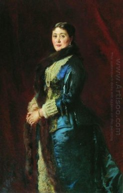 Portrait Of Princess M Orlova Davydova