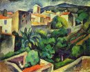 Cassis The View From The Window 1913