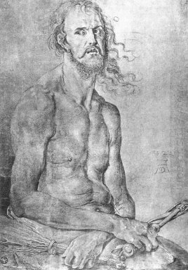 self portrait as the man of sorrows 1522