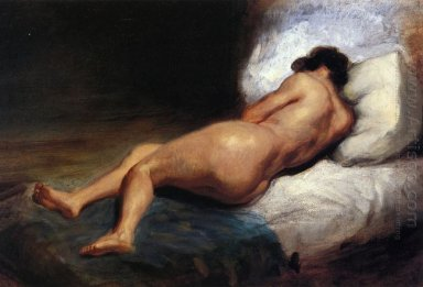 Study Of A Reclining Nude 1824