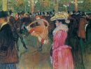 At The Moulin Rouge The Dance 1890