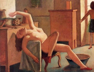 Nude With Cat 1949