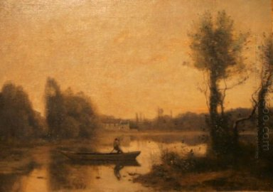 The Pond At Ville D Avray 1860