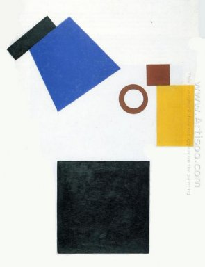 Suprematism Two Dimensional Self Portrait 1915 1
