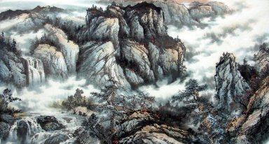 Mountains - Chinese Painting