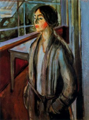 Woman On The Verandah 1924