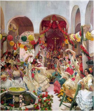 Seville The Dance 1915