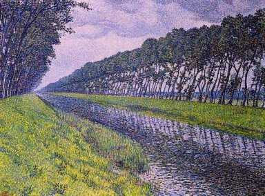 Canal In Flanders 1894 1