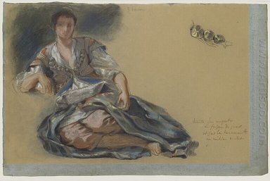Study For The Painting Women Of Algiers