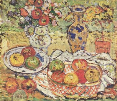Still Life With Apples 1915