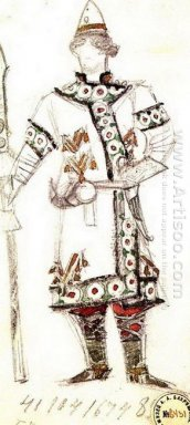 Prince Yuri Costume Design For The Opera The Enchantress 1900