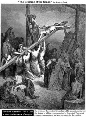 The Erection Of The Cross
