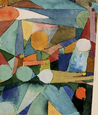 Colour Shapes 1914