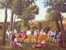 Greek Dance in a Landscape