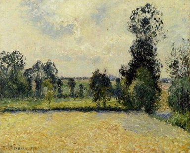 field of oats in eragny 1885