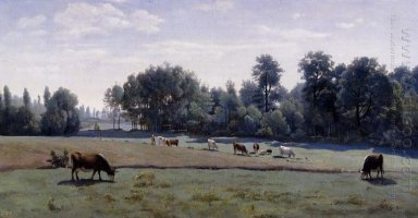 Marcoussis Cows Grazing 1850