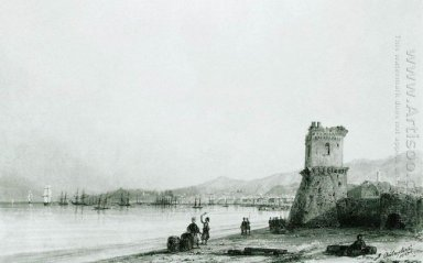 The Tower Of Genoa 1845