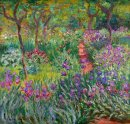 The Iris Garden At Giverny 1900