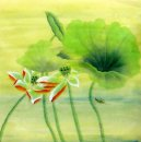 Lotus leaf - Chinese Painting