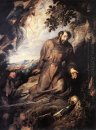 St Francis of Assisi Receiving the Stigmata c. 1635