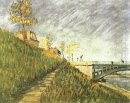 Banks Of The Seine Near Pont De Clichy 1887