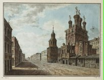 November 7, 1824 in the square in front of the Bolshoi Theatre