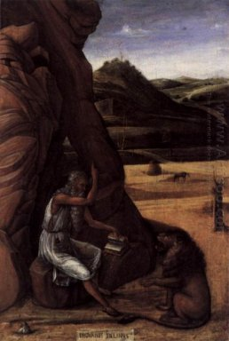 St Jerome In The Wilderness 1450
