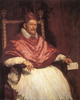 Portrait Of Pope Innocent X 1650
