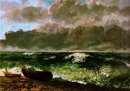 The Stormy Sea 1869