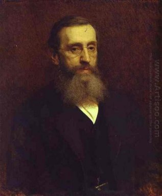 Portrait Of Feodor Petrushevsky 1882
