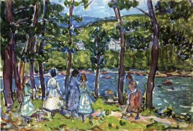 Girls On The Riverbank