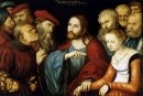 Christ And The Adulteress 1532
