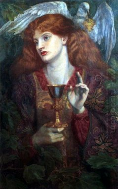 The Damsel Of The Sanct Grael Or Holy Grail 1874