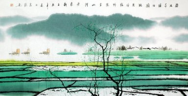 Farmland - Chinese Painting