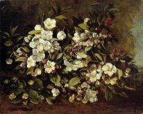 Branch Of Apple Blossoms 1871