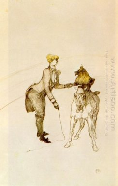At The Circus The Animal Trainer 1899