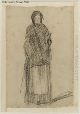 Woman Standing 1881