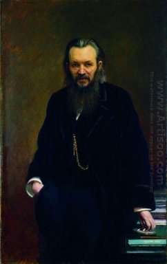 Portrait Of A Publisher And Writer Alexei Sergeyevich Suvorina 1